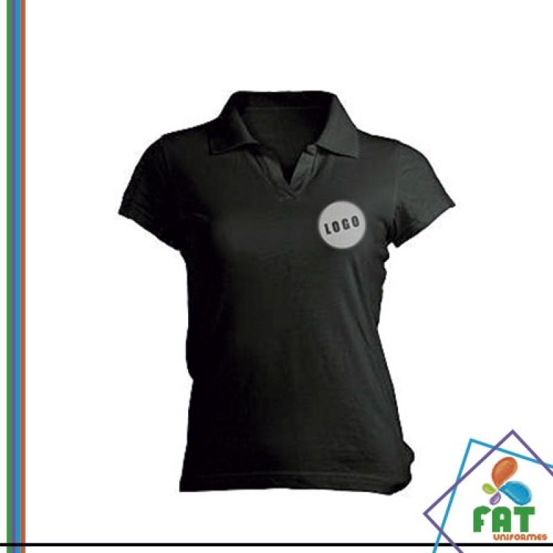 Camisa Polo com Bolso Vila Andrade - Camisa Polo Empresa