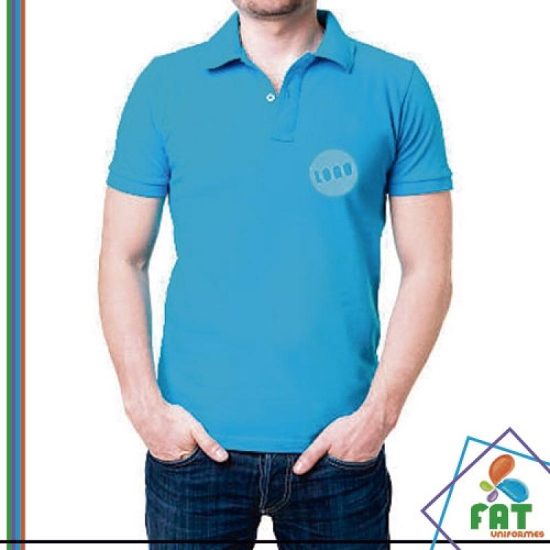 Camisa Polo de Algodão Parque Colonial - Camisa Polo Empresa