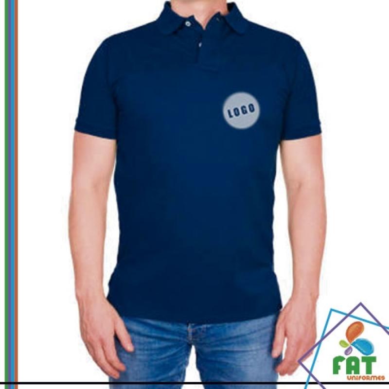 Camisa Polo Masculina Preço Parelheiros - Camisa Polo para Uniforme ... 4a3c7afb3c8b2