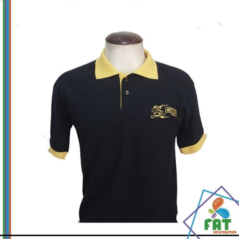 Camisas Polo com Bolso São Caetano do Sul - Camisa Polo para Uniforme bbecf6e0f928b