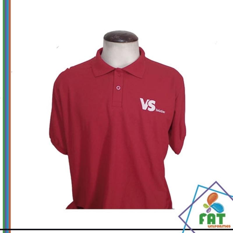 Camisas Polo Lisa Atacado Santa Cecília - Camisa Polo Personalizada