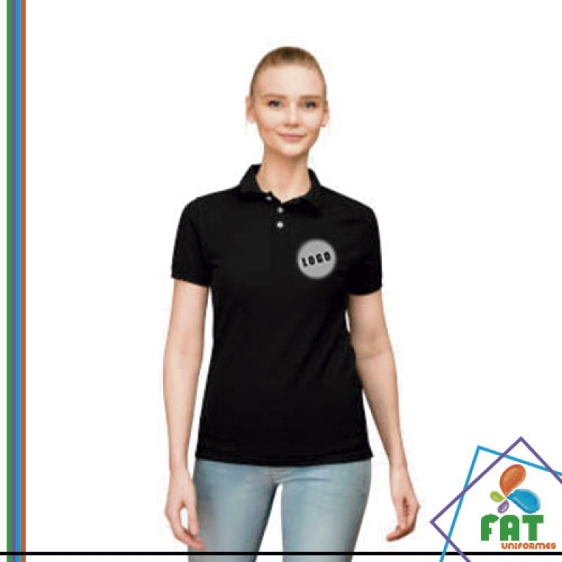 Camisas Polo para Uniforme Vila Marcelo - Camisa Polo Personalizada