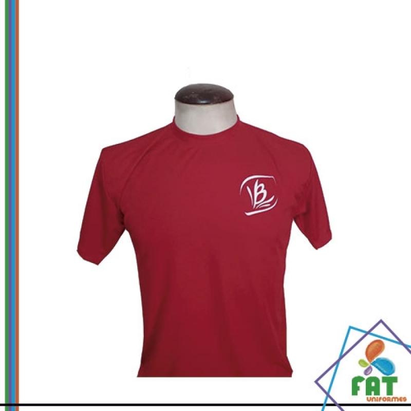 Camiseta para Empresa Preço Jardim Santa Terezinha - Camiseta Personalizada Uniforme