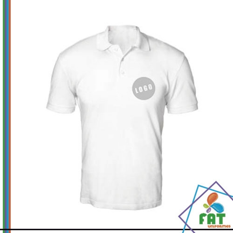 f50945dd15 onde vende camisa polo para uniforme Vila Mazzei