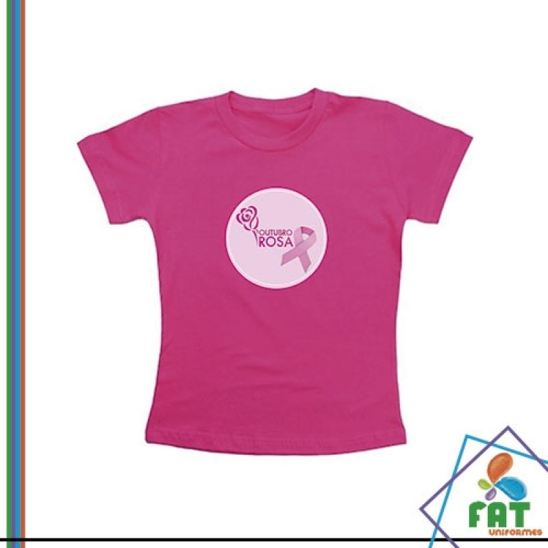 Onde Encontro Camiseta para Empresa Anália Franco - Camiseta Personalizada Uniforme