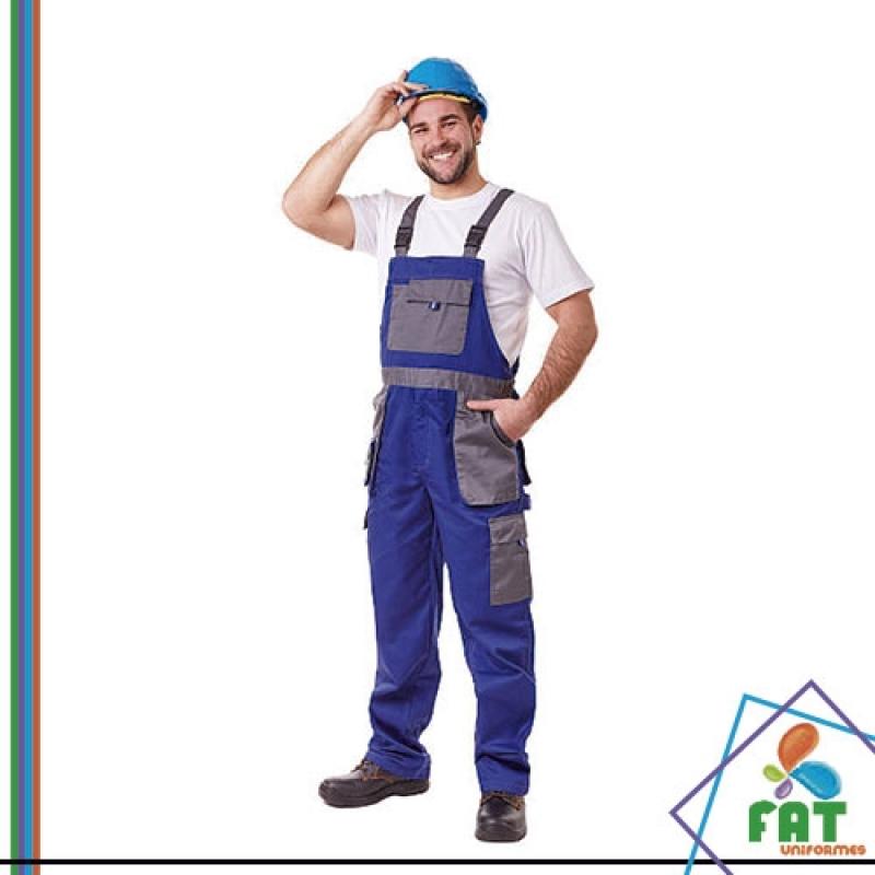 Onde Encontro Uniforme Profissional Industrial Ermelino Matarazzo - Uniforme Profissional com Faixa Refletiva