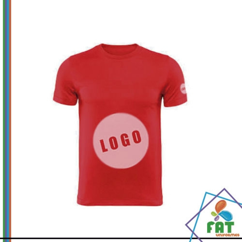 Onde Vende Camiseta Personalizada Atacado Guaianases - Camiseta Personalizada Uniforme