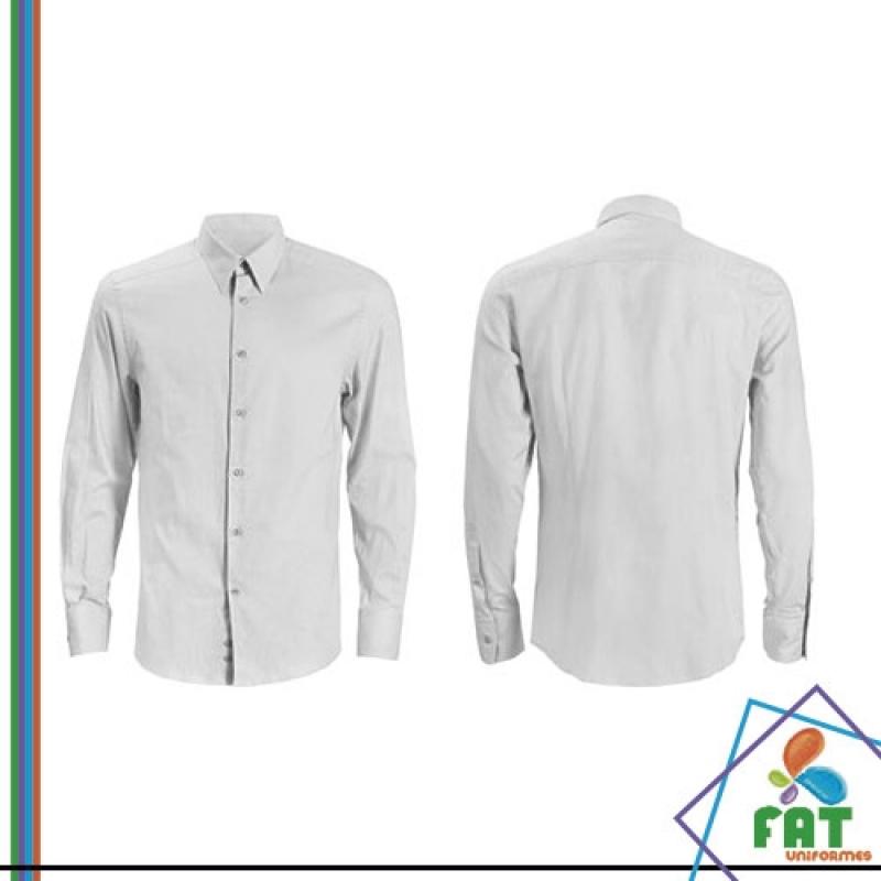 51d141e827 camisa uniforme social masculino valor São Mateus. Cod. 7462. onde vende  uniformes executivos masculinos Alto do Pari