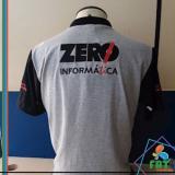camisa polo personalizada Jardim São Luiz