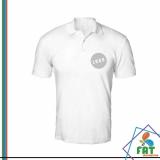 camisas polo de algodão Nova Piraju