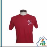 camiseta para empresa preço Moema