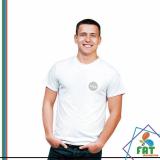 camiseta para homens Centro
