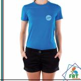 camiseta personalizada uniforme Água Espraiada