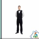 uniforme calça social masculina Parque Colonial