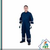 uniforme profissional com faixa refletiva Vila Clementina