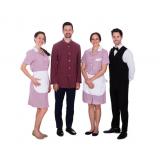 uniforme profissional hotelaria preço Pinheiros