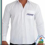 uniforme social masculino com logomarca preço Santo Amaro