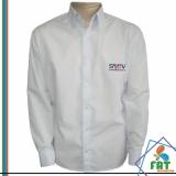 uniforme social masculino com logo