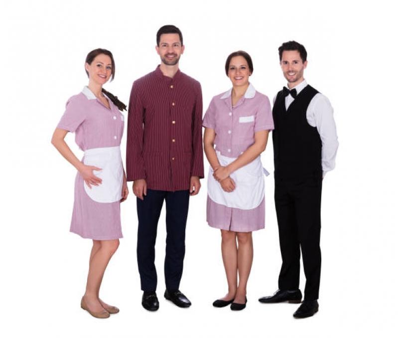 Uniforme Profissional Hotelaria Preço Moema - Uniforme Profissional