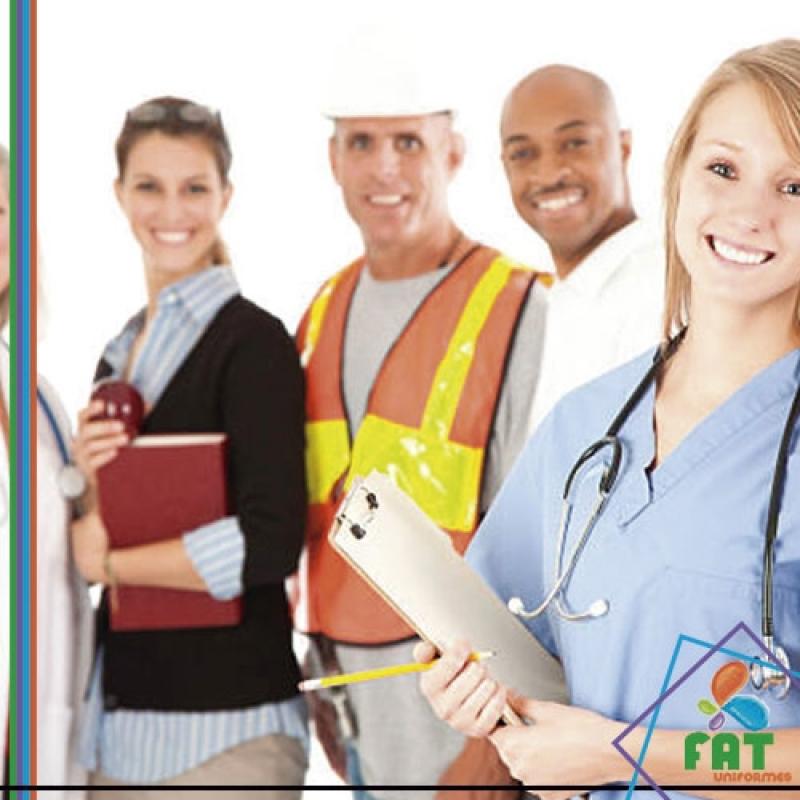Uniforme Profissional Industrial Pompéia - Uniforme Profissional com Faixa Refletiva