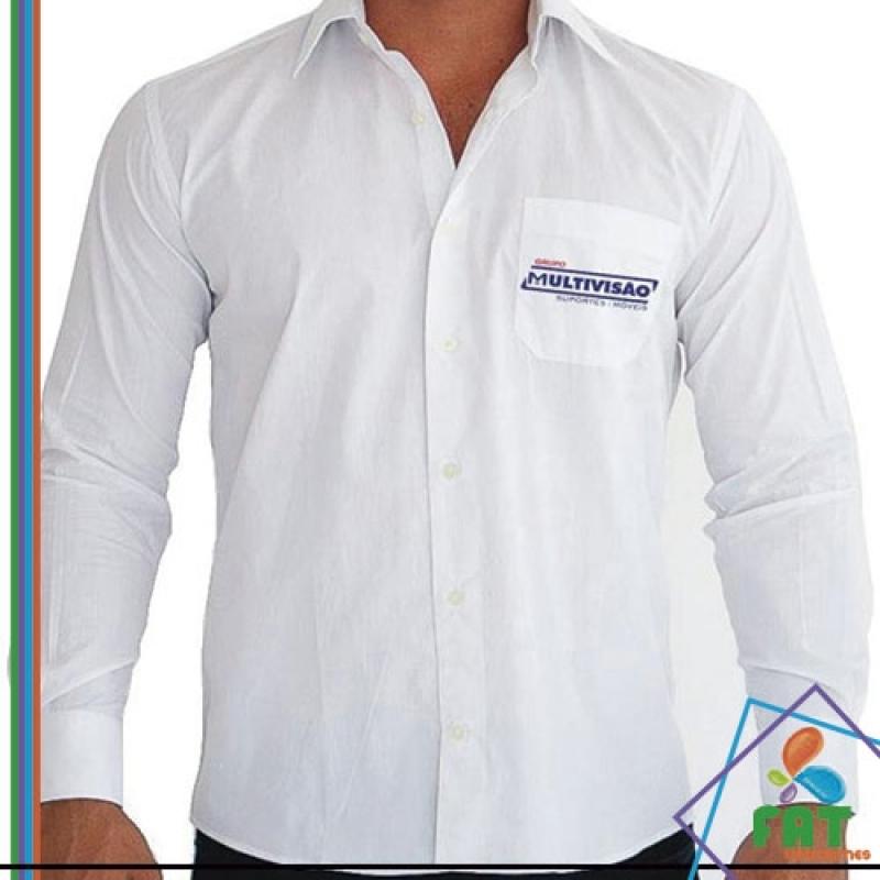 Uniforme Social Masculino Preço Bela Vista - Uniforme Social Masculino com Logomarca
